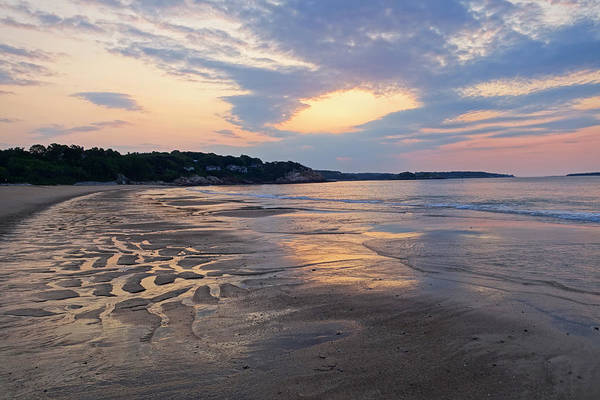 Singing Beach Sandy Beach Manchester By The Sea Ma Sunrise Art Print
