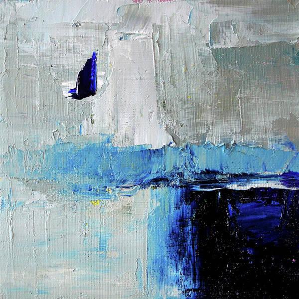 Ultramarine Blue Painting - Singing The Blues by Nancy Merkle