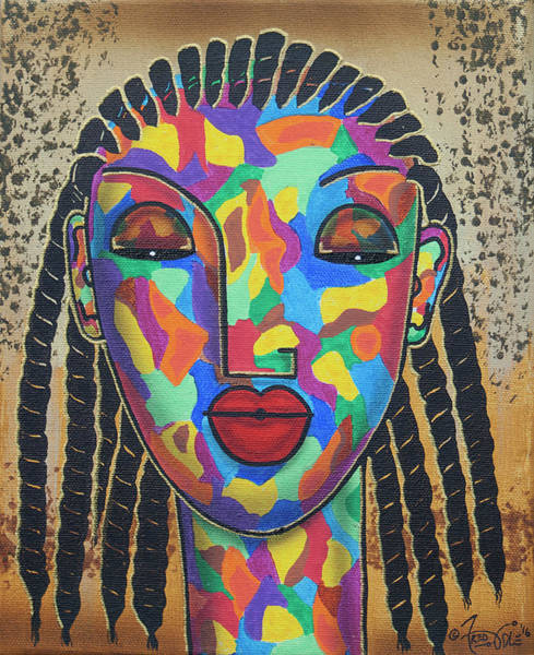 Plaits Painting - Single Girl by Fred Odle
