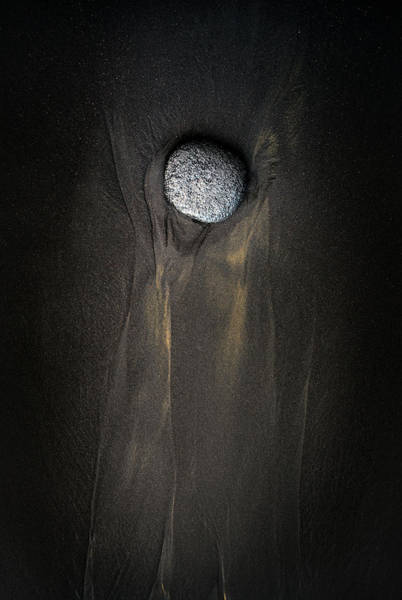 Photograph - Single Stone by Christopher Johnson