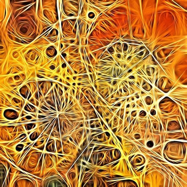 Digital Art - Single Thread Connecting by Lisa Schwaberow