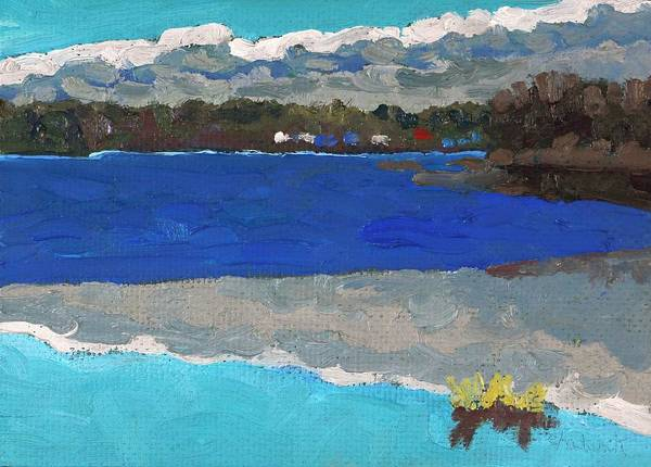 Stratocumulus Painting - Singleton Spring Ice by Phil Chadwick