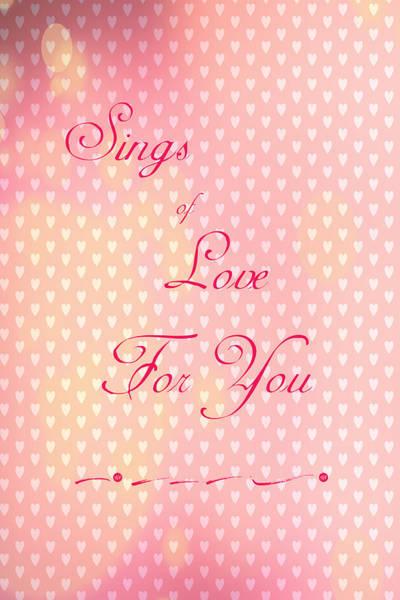 Digital Art - Sings Of Love by Judy Hall-Folde
