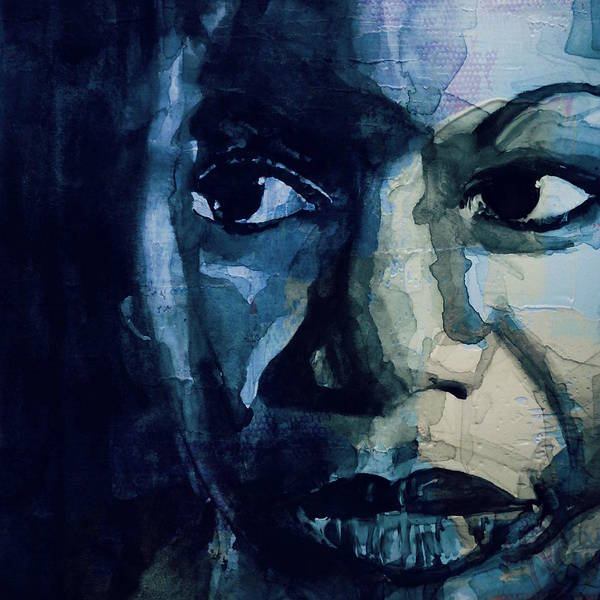 Wall Art - Painting - Sinnerman - Nina Simone by Paul Lovering