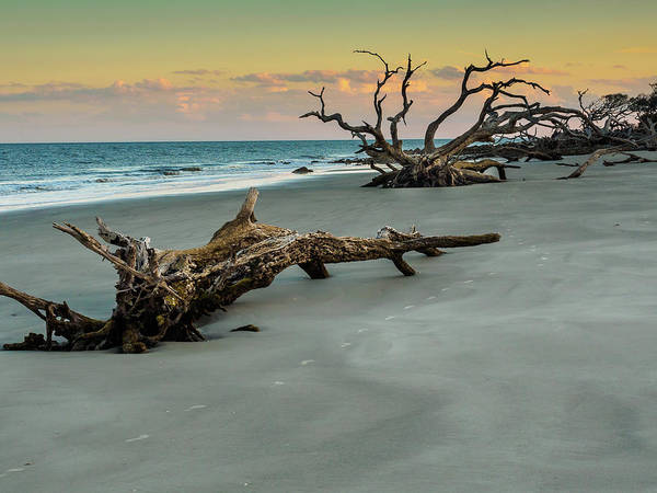 Photograph - Sunset On Jekyll Island by Louis Dallara