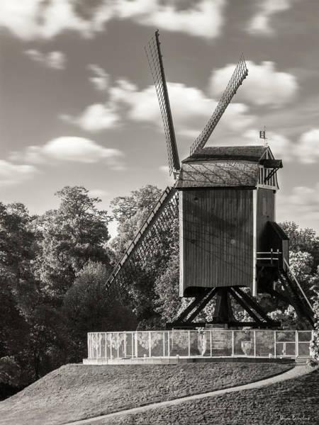 Bruges Photograph - Sint-janshuismolen by Wim Lanclus