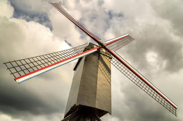Sint Janshuismolen Windmill 2 Art Print
