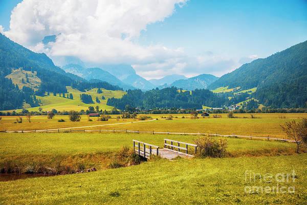 Photograph - Sint Johann Village In Tyrol Area by Ariadna De Raadt