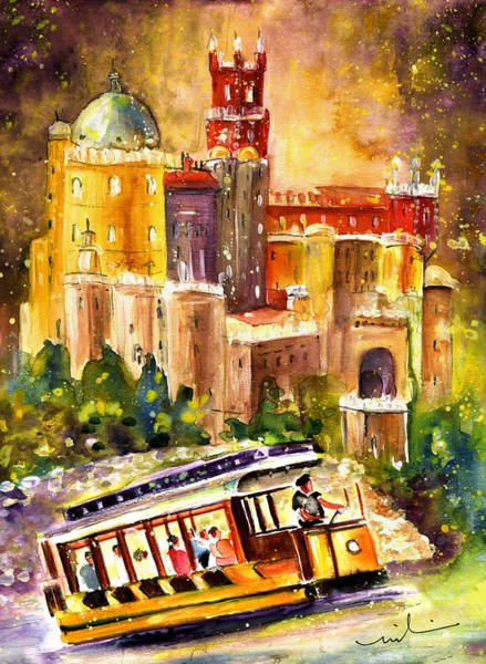 Painting - Sintra Authentic by Miki De Goodaboom