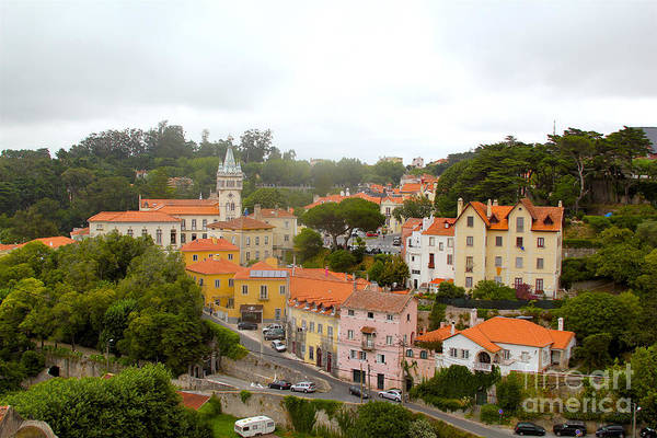 Lisbon Castle Photograph - Sintra by Carey Chen