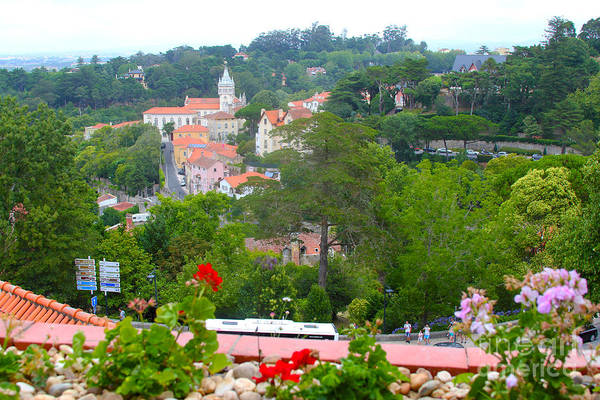 Lisbon Castle Photograph - Sintra View by Carey Chen