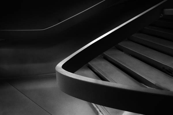 Stairs Wall Art - Photograph - Sinuous   by Jessica Jenney