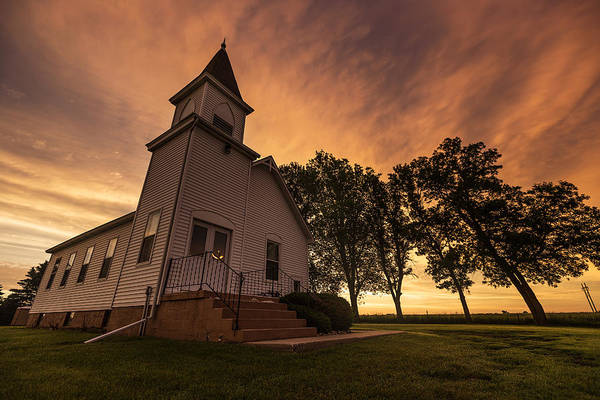 Photograph - Sioux Valley Baptist Church by Aaron J Groen