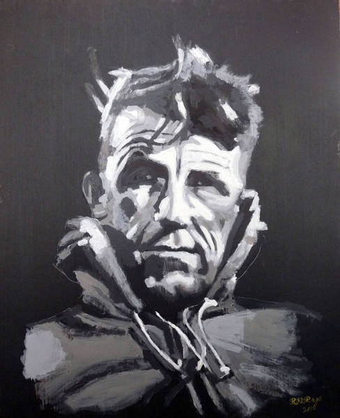 Painting - Sir Edmund Hillary by Richard Le Page