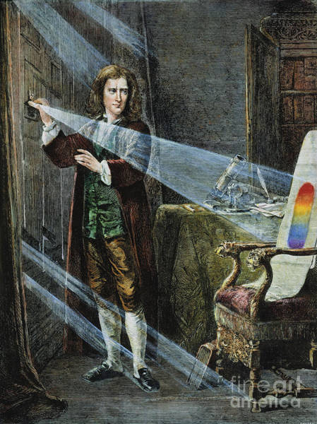 Photograph - Sir Isaac Newton by Granger