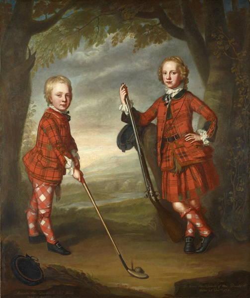 Country Club Painting - Sir James Macdonald   by William Mosman