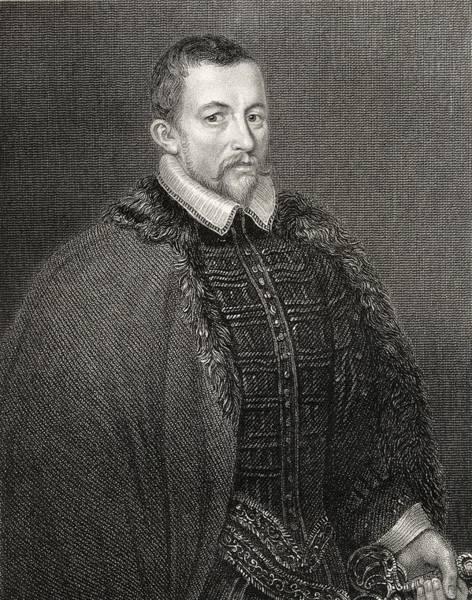Wall Art - Drawing - Sir Thomas Bodley 1545-1612. English by Vintage Design Pics