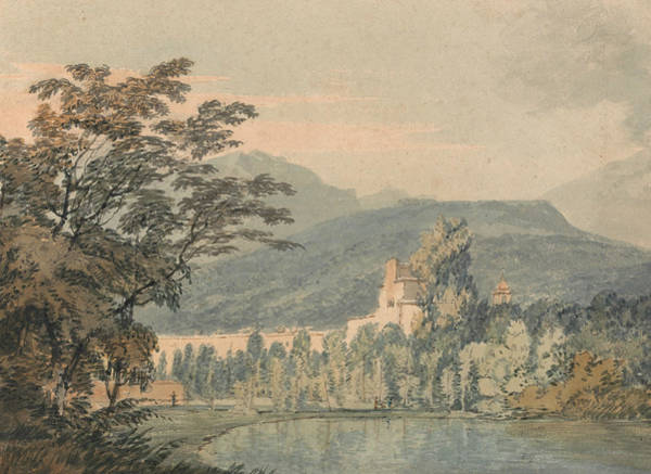 Painting - Sir William Hamilton's Villa by Joseph Mallord William Turner