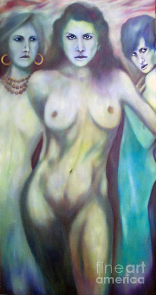 Painting - Sirens by Roger Williamson