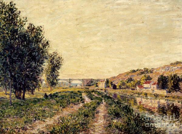 Wall Art - Photograph - Sisley: Landscape, 1884 by Granger