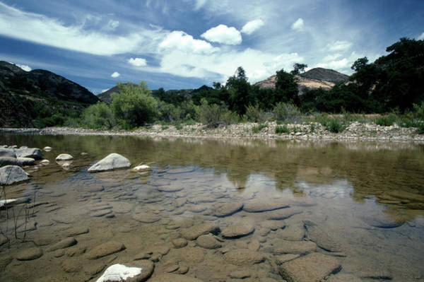 San Rafael Wilderness Wall Art - Photograph - Sisquoc River - Kodachrome 25 by Soli Deo Gloria Wilderness And Wildlife Photography
