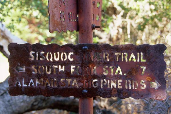 San Rafael Wilderness Photograph - Sisquoc River Trail - San Rafael Wilderness by Soli Deo Gloria Wilderness And Wildlife Photography
