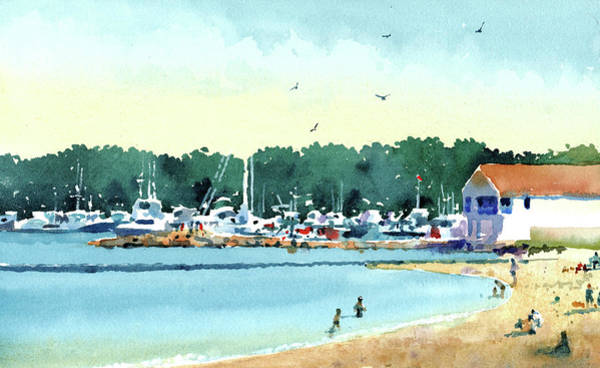 Painting - Sister Bay, Door County by James Faecke