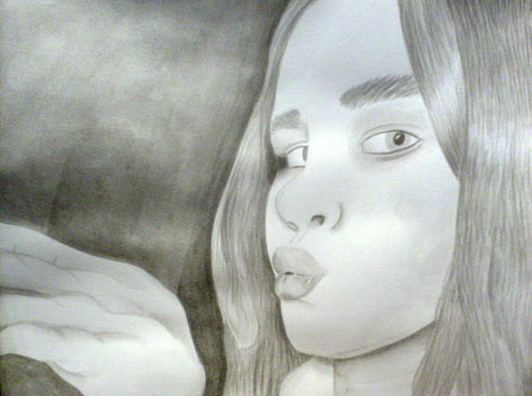 Wall Art - Painting - Sister by Chanelle Champlain