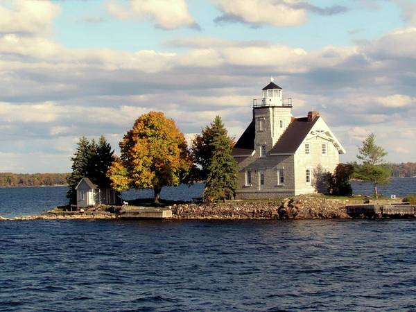 Photograph - Sister Island Lighthouse by Dennis McCarthy