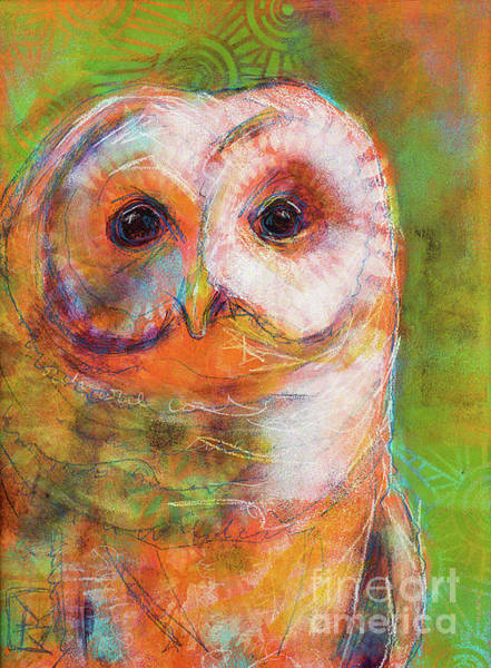 Rosemary Painting - Sister Of Owls by Rosemary Conroy