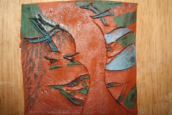 Ceramic Art - Sisterhood - Tile by Gloria Ssali
