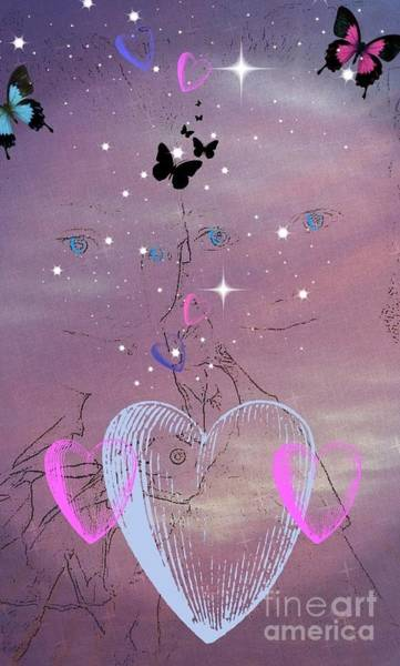 Digital Art - Sisterly Love by Diamante Lavendar