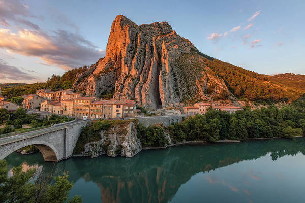 Stadt Photograph - Sisteron - France by Joana Kruse