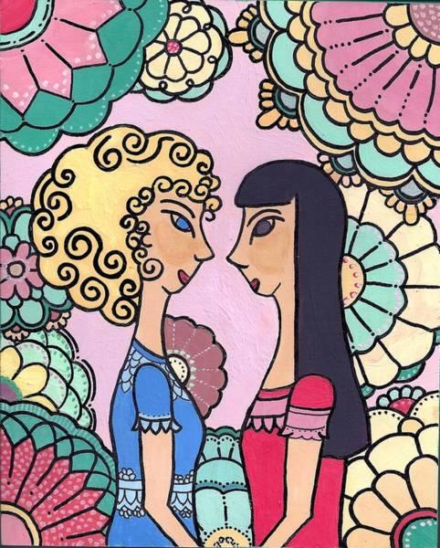 Sisters - Acrylic Art Print