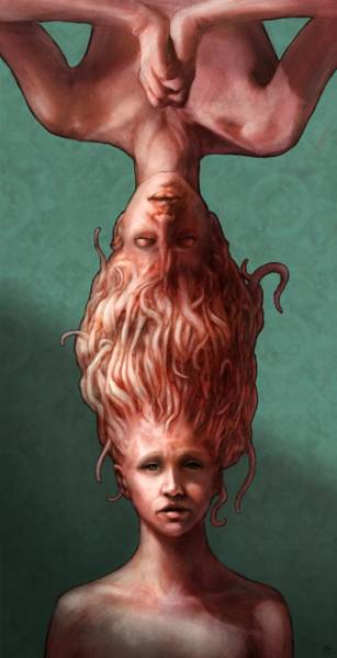 Tentacles Digital Art - Sisters by Ethan Harris