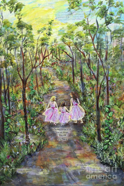 Mixed Media - Sisters by Janis Lee Colon