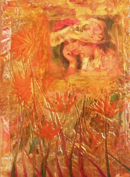 Wall Art - Painting - Sisters by John Vandebrooke