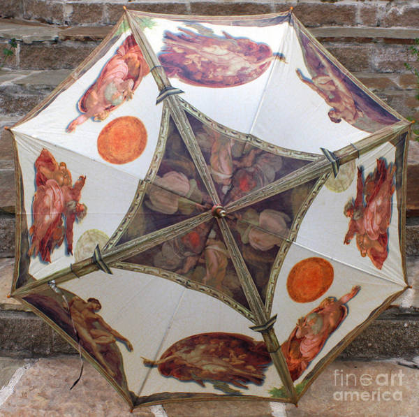 Sistine Wall Art - Photograph - Sistine Chapel Umbrella by Joy Tudor