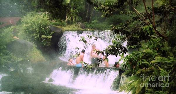 Photograph - Sit On A Waterfall by Ted Pollard