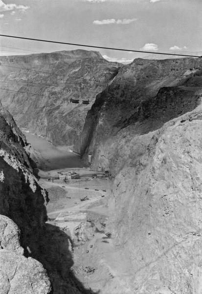 Wall Art - Photograph - Site Of The Future Boulder Dam by Underwood Archives