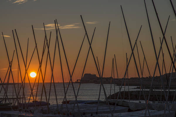 Photograph - Sitges Sunset by Gary Lengyel