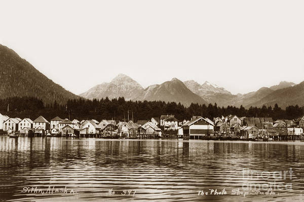 Photograph - Sitka Alaska Circa 1935 by California Views Archives Mr Pat Hathaway Archives