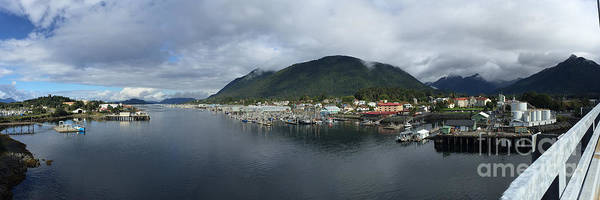 Photograph - Sitka Alaska From The John O'connell Bridge Is A Cable-stayed Bridge 2015 by California Views Archives Mr Pat Hathaway Archives