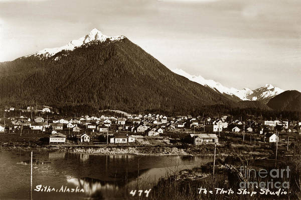 Photograph - Sitka Alaska No. 474 Circa 1935 by California Views Archives Mr Pat Hathaway Archives