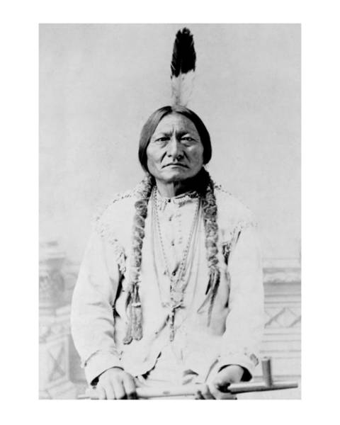 Photograph - Sitting Bull 1 by John Feiser