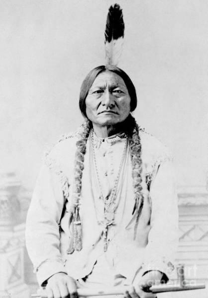 Sitting Bull Photograph - Sitting Bull, A Hunkpapa Lakota Tribal by Stocktrek Images