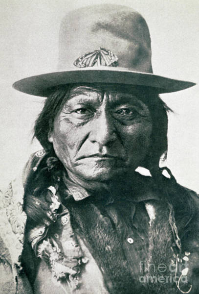 Tribe Photograph - Sitting Bull by American School