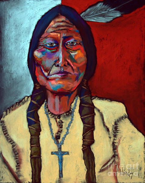 Wall Art - Painting - Sitting Bull by David Hinds