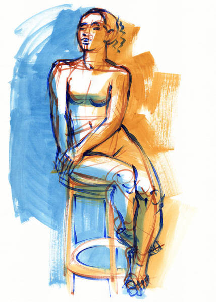 Painting - Sitting High by Judith Kunzle