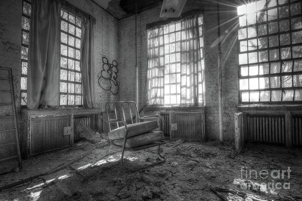 Wall Art - Photograph - Sitting In Filth Bw by Michael Ver Sprill
